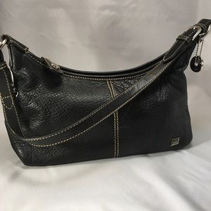 The SAK Satchel Black Leather Ex. Condition